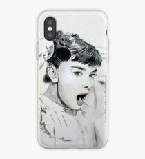 Audrey Hepburn (in Roman Holiday) IPhone Case iPhone Case