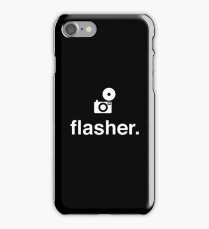 flasher. iPhone Case/Skin