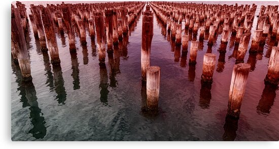 Prince's Pier Port Melbourne by Pauline Tims