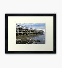 Cribstone Bridge - Harpswell, Maine Framed Print