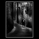Old Nun by RAY AGIUS