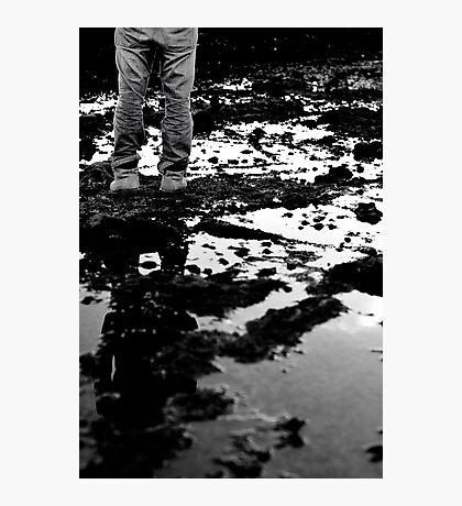 standing alone Photographic Print