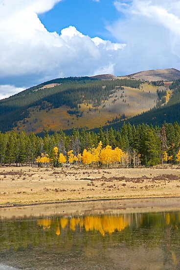 Guanella Pass Reflections  by Robert Meyers-Lussier