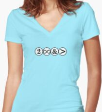 To Infinity and... Women's Fitted V-Neck T-Shirt