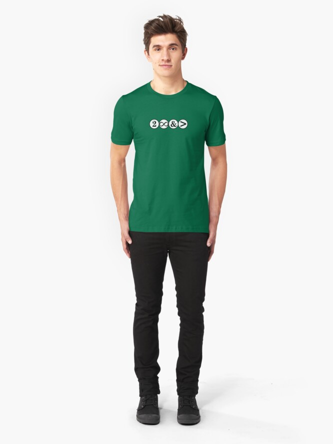 Alternate view of To Infinity and... Slim Fit T-Shirt