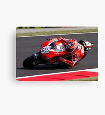 Nicky Hayden in Mugello 2011 Canvas Print
