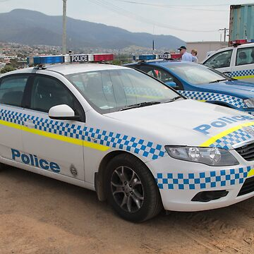 Ford Police Car- Royal Tasmania Show 2011 by PaulWJewell