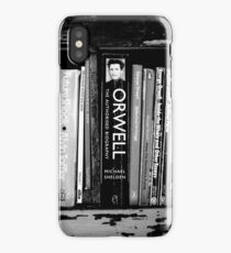 The Man in the Bookcase iPhone Case