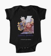 Leeroy Jenkins Kids Clothes