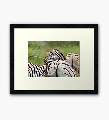 I LOVE YOU SO MUCH MUM! Framed Print