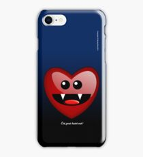 EAT YOUR HEART OUT (PHONECASE) iPhone Case/Skin