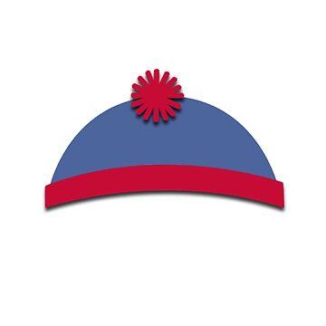 South Park Hats Stan by Puranik