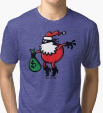 Santa Claus or Thief? Tri-blend T-Shirt