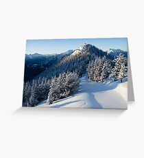 Sulphur Mountain Greeting Card
