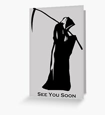 Grim reaper greeting cards redbubble reaper greeting card bookmarktalkfo Image collections
