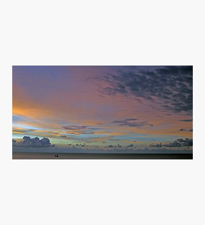 Sunset on the Carribean  Photographic Print