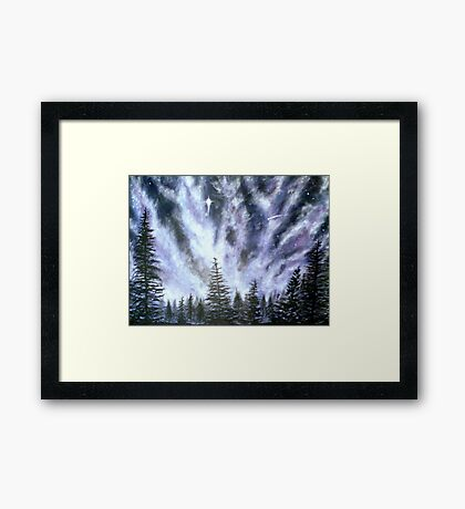 Gods Glory Framed Print