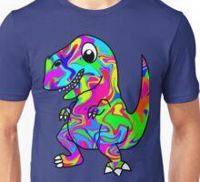 Colorful Dinosaur Unisex T-Shirt