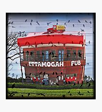 Lets have a sing-a-long at the Ettamogah Pub Photographic Print
