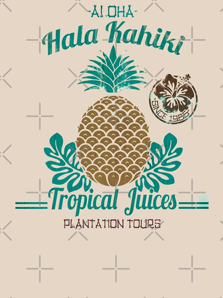 S / S 2015 - Ananas - Hala Kahiki Juice Stand von ikerpazstudio