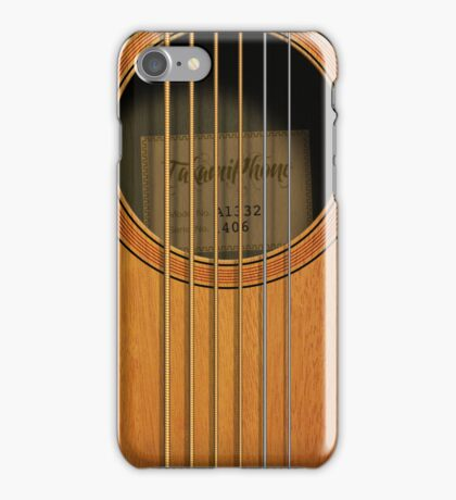 """Takamiphone"" Acoustic Guitar iPhone Case/Skin"
