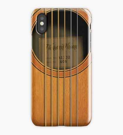 """Takamiphone"" Acoustic Guitar iPhone Case"