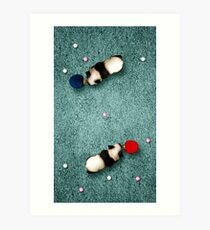 Animal Art - Ping Pong Pandas Art Print