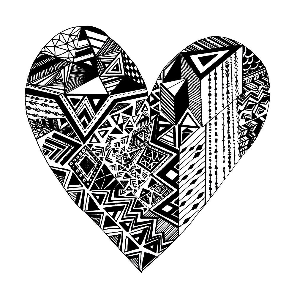 heart broken by monicamarcov