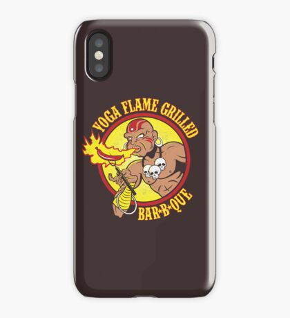 Yoga Flame Grilled BBQ iPhone Case