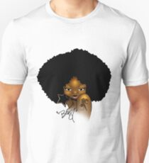 Afro Sassy Slim Fit T-Shirt
