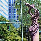 'Corner of Trade & Tryon, Charlotte NC' by Jerry Kirk