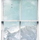 Window Art 3 - Alps by Michael Murray