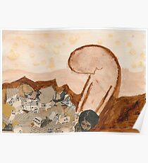 Lost in an arid landscape of memories Poster