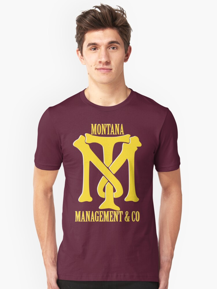 Montana Management Amp Co Tony Montana Scarface Film T Shirt