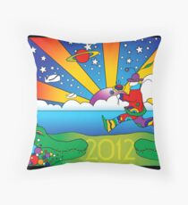 2012-It's Not the End, It's Only the Beginning Throw Pillow