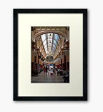 Block Arcade - Melbourne Framed Print
