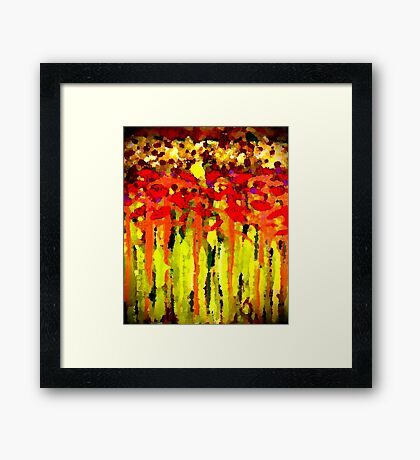 Lost in Glory Framed Print