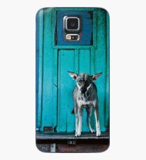 Dog in the fishermen's village Case/Skin for Samsung Galaxy