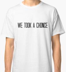 Nous avons pris une Chonce T-shirt classique