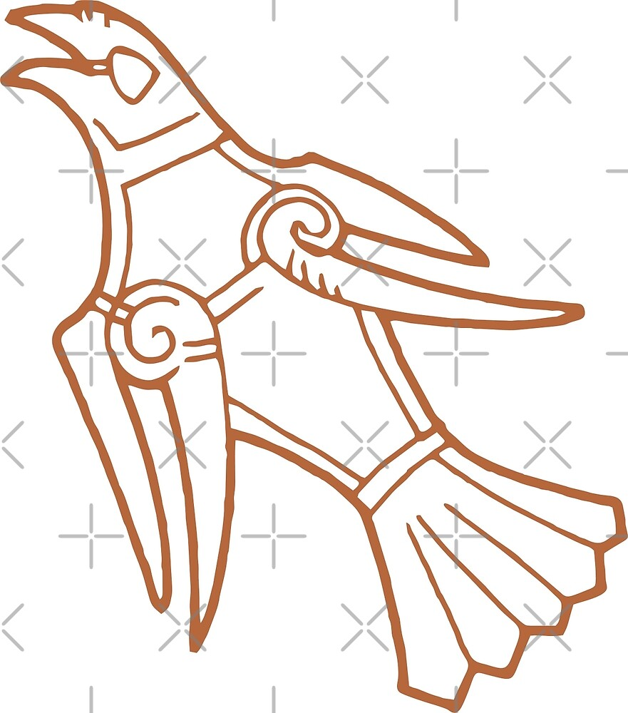 Eagle Ringerike Denmark by wikingershirts