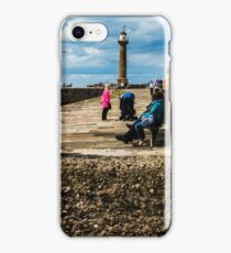 Whitby Lighthouse -  North Yorkshire iPhone Case/Skin