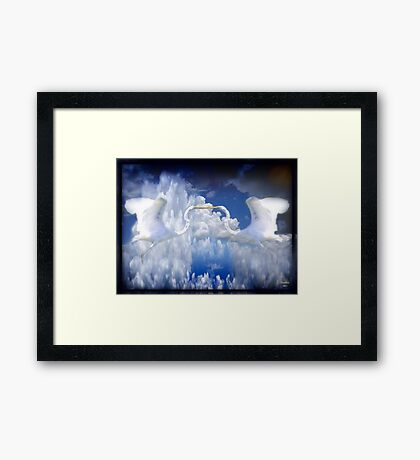 The Ultimate Kiss Framed Print