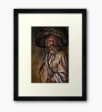 The Tombstone Bandito Framed Print