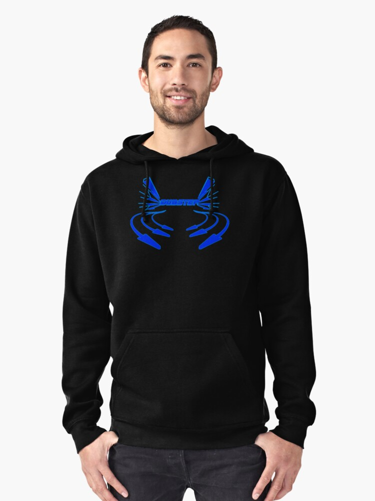 Dubstep Arrows Pullover Hoodie Front