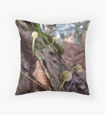 Mini Mushrooms (for JohnDSmith) Throw Pillow