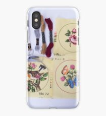 Embroider Me  iPhone Case