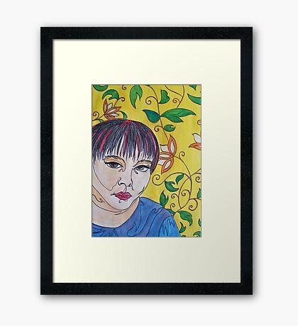 Woman 2 Framed Print
