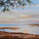 'Elliott Heads'  East coast, Bundaberg, Queensland. Oil on canvas. by Rita Blom