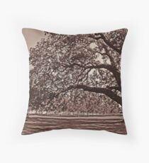 Ye Olde Oak Throw Pillow