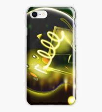 Pokemon Pikachu Lightbulb  iPhone Case/Skin